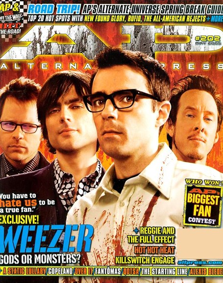 Alternative Press Cover - 5/1/2005