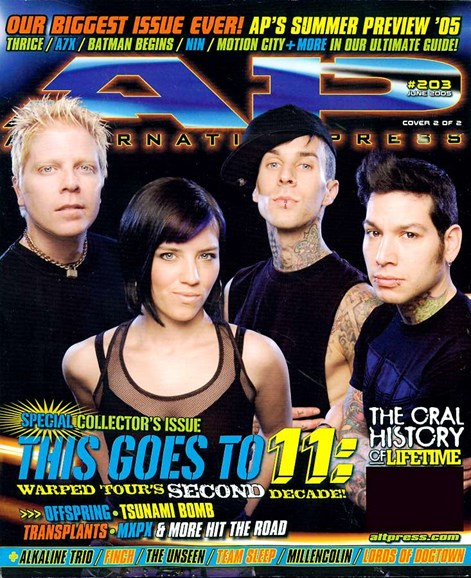 Alternative Press Cover - 6/1/2005