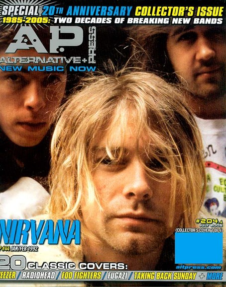 Alternative Press Cover - 7/1/2005