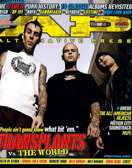Alternative Press Cover - 8/1/2005
