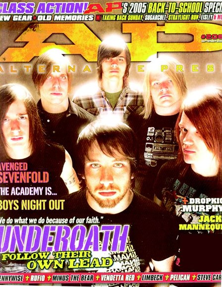 Alternative Press Cover - 9/1/2005