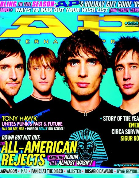 Alternative Press Cover - 11/1/2005