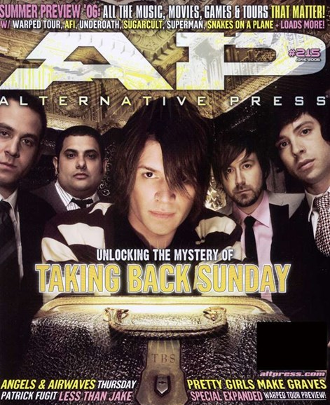 Alternative Press Cover - 5/1/2006