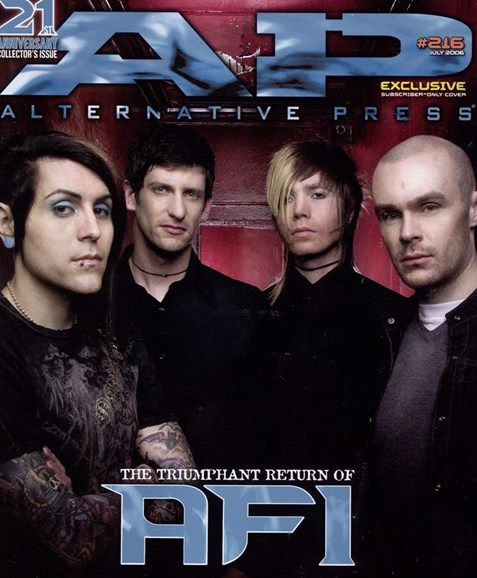 Alternative Press Cover - 7/1/2006