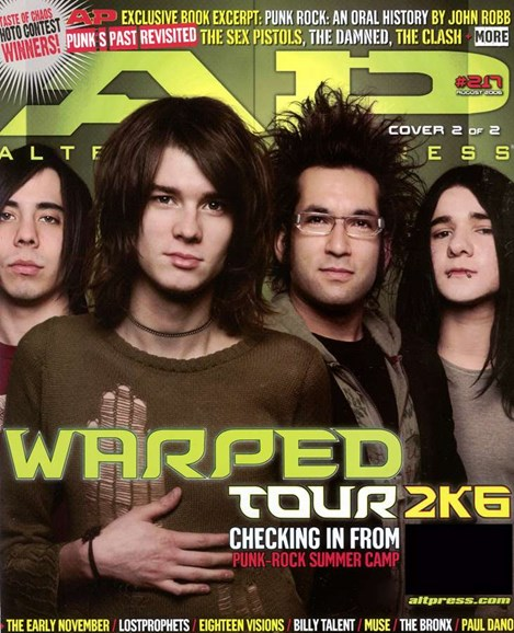 Alternative Press Cover - 8/1/2006