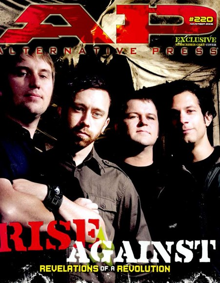 Alternative Press Cover - 11/1/2006