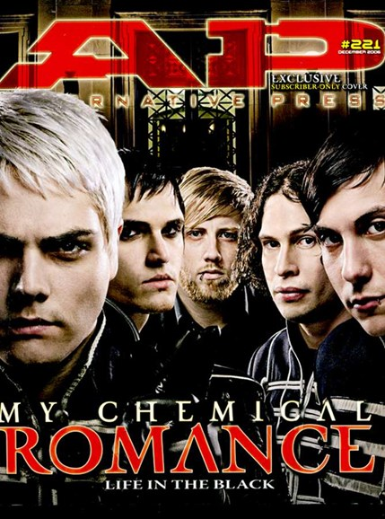 Alternative Press Cover - 12/1/2006