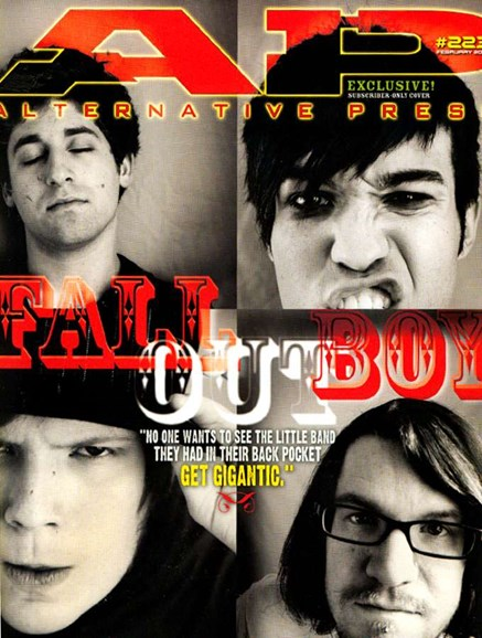 Alternative Press Cover - 2/1/2007