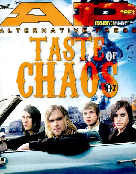 Alternative Press Cover - 3/1/2007