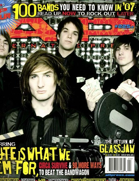 Alternative Press Cover - 4/1/2007