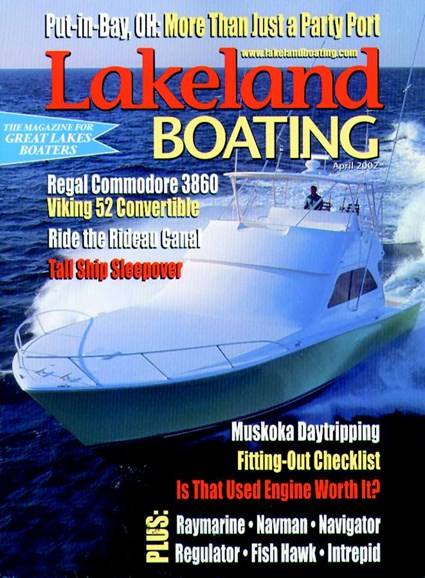 Lakeland Boating Cover - 4/1/2002