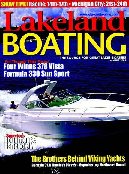 Lakeland Boating Cover - 8/1/2003