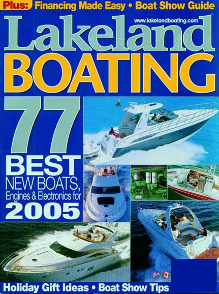 Lakeland Boating Cover - 12/1/2004