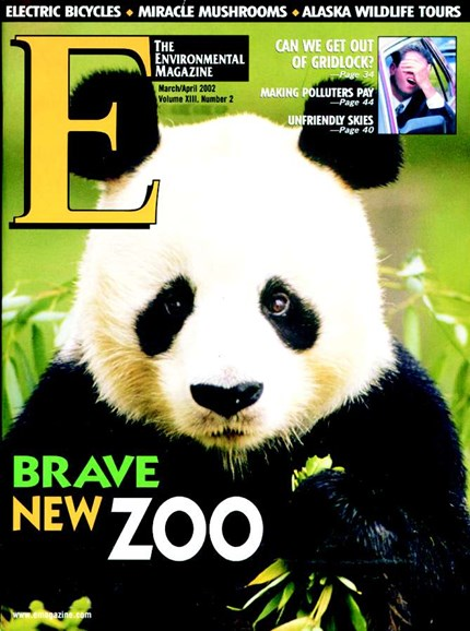 E: The Environment Magazine Cover - 3/1/2002