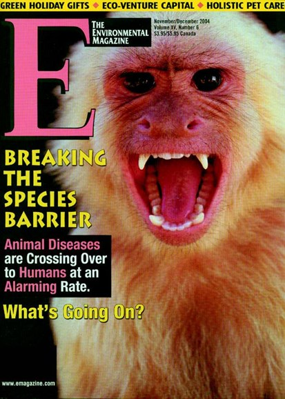 E: The Environment Magazine Cover - 12/1/2004