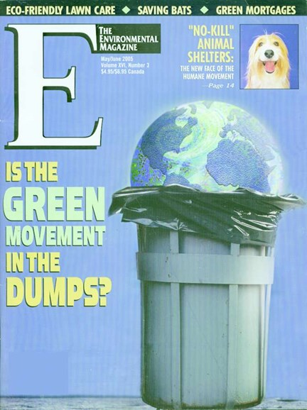 E: The Environment Magazine Cover - 6/1/2005