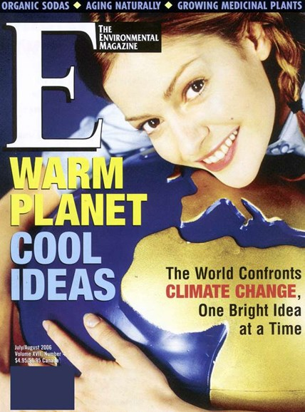 E: The Environment Magazine Cover - 8/1/2006