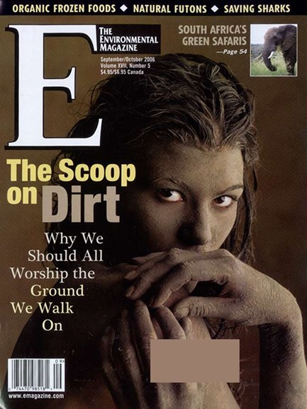 E: The Environment Magazine Cover - 10/1/2006