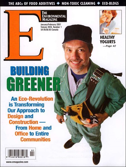 E: The Environment Magazine Cover - 2/1/2007