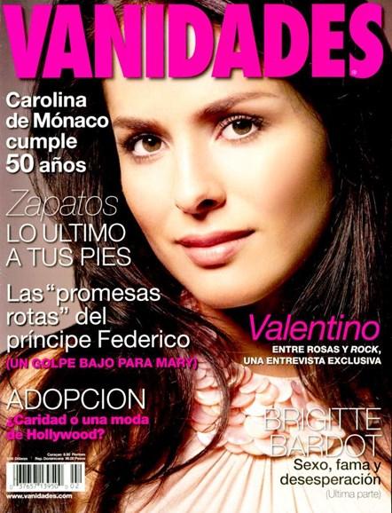 Vanidades Cover - 1/14/2007