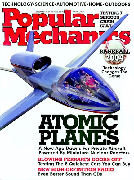 Popular Mechanics Cover - 4/14/2004