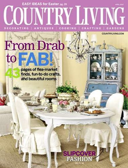 Country Living Cover - 4/1/2007