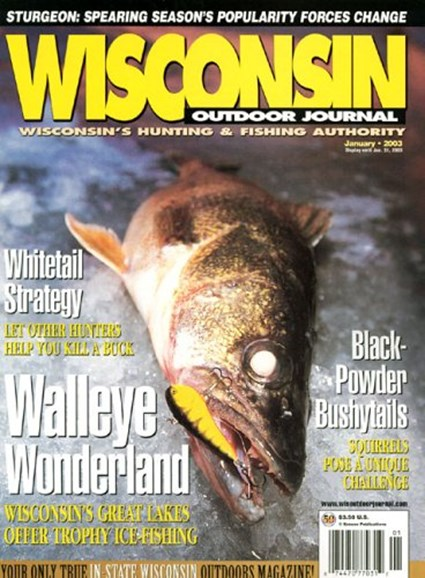 Wisconsin Outdoor Journal Cover - 10/1/2004