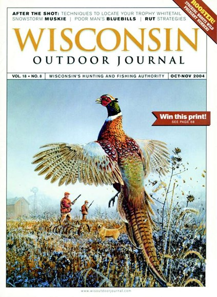 Wisconsin Outdoor Journal Cover - 11/1/2004