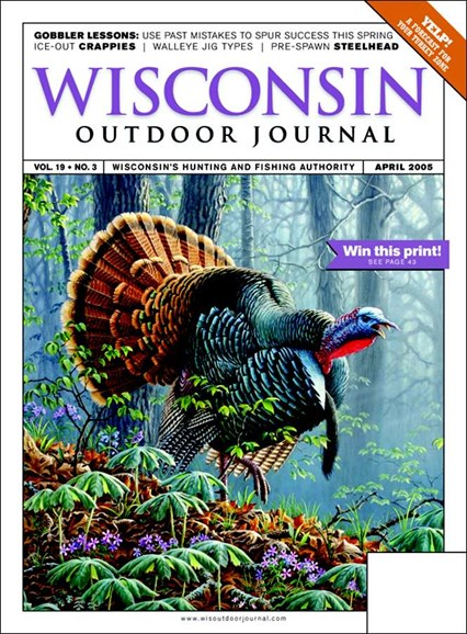 Wisconsin Outdoor Journal Cover - 4/1/2005