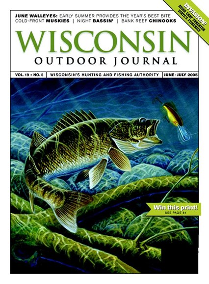 Wisconsin Outdoor Journal Cover - 6/1/2005