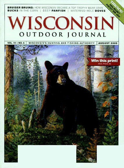 Wisconsin Outdoor Journal Cover - 8/1/2005