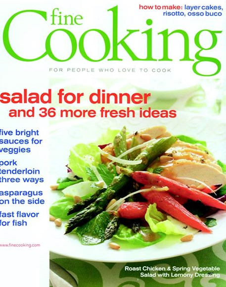 Fine Cooking Cover - 4/1/2006