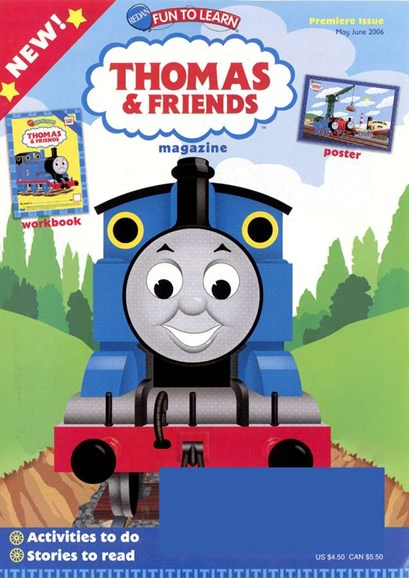 Thomas & Friends Cover - 5/1/2006