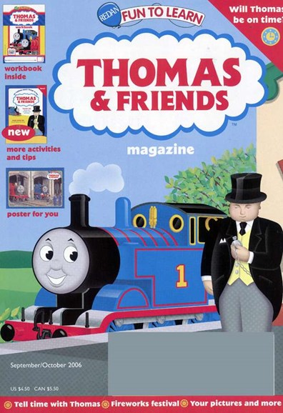 Thomas & Friends Cover - 10/1/2006
