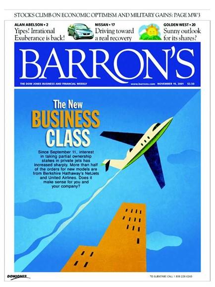 Barron's Cover - 9/1/2005
