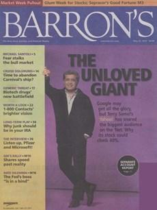 Barron's | 5/2006 Cover