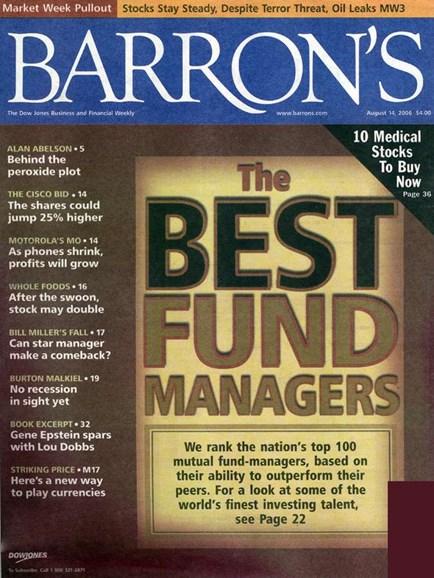 Barron's Cover - 8/7/2006
