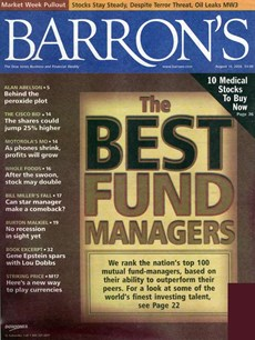 Barron's | 8/2006 Cover
