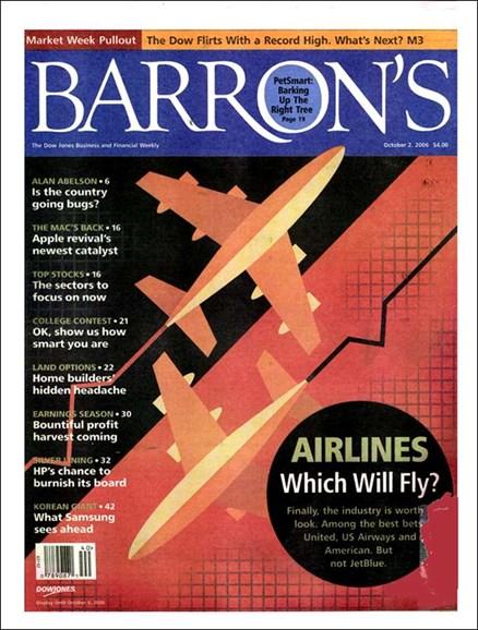 Barron's Cover - 10/3/2006