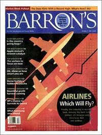 Barron's   10/3/2006 Cover