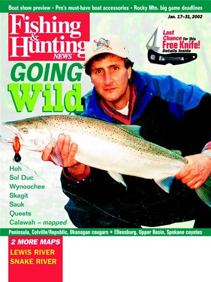 Fishing & Hunting News Cover - 1/1/2002