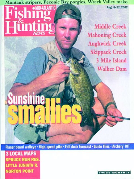 Fishing & Hunting News Cover - 8/1/2002