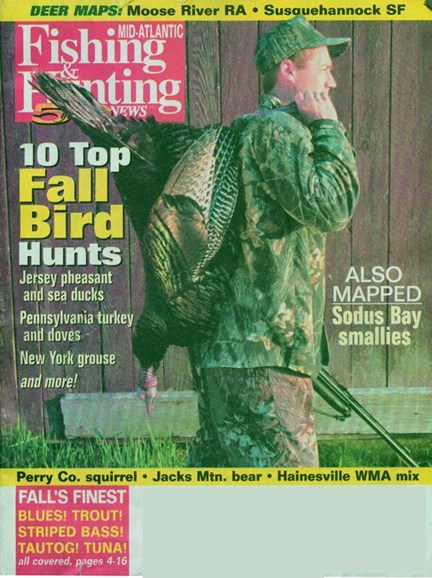 Fishing & Hunting News Cover - 10/1/2004