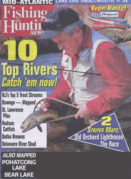 Fishing & Hunting News Cover - 5/21/2006