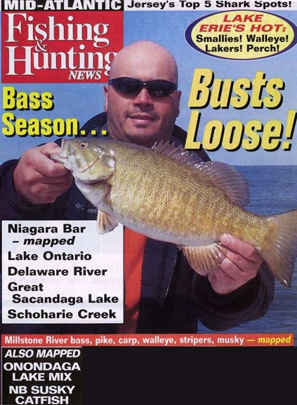 Fishing & Hunting News Cover - 6/14/2006