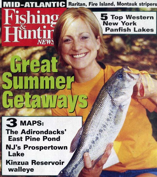 Fishing & Hunting News Cover - 7/21/2006