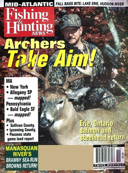 Fishing & Hunting News Cover - 10/3/2006