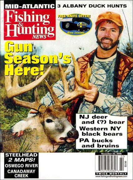 Fishing & Hunting News Cover - 11/21/2006