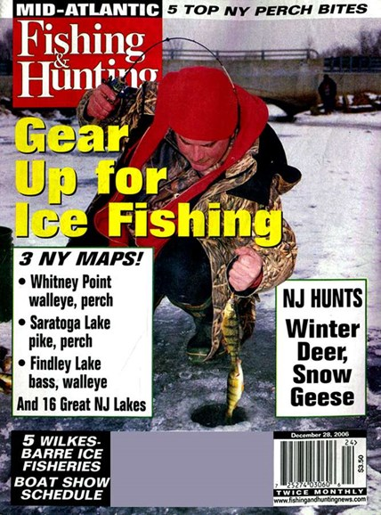 Fishing & Hunting News Cover - 12/28/2006