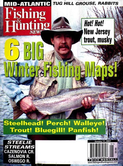 Fishing & Hunting News Cover - 1/7/2007